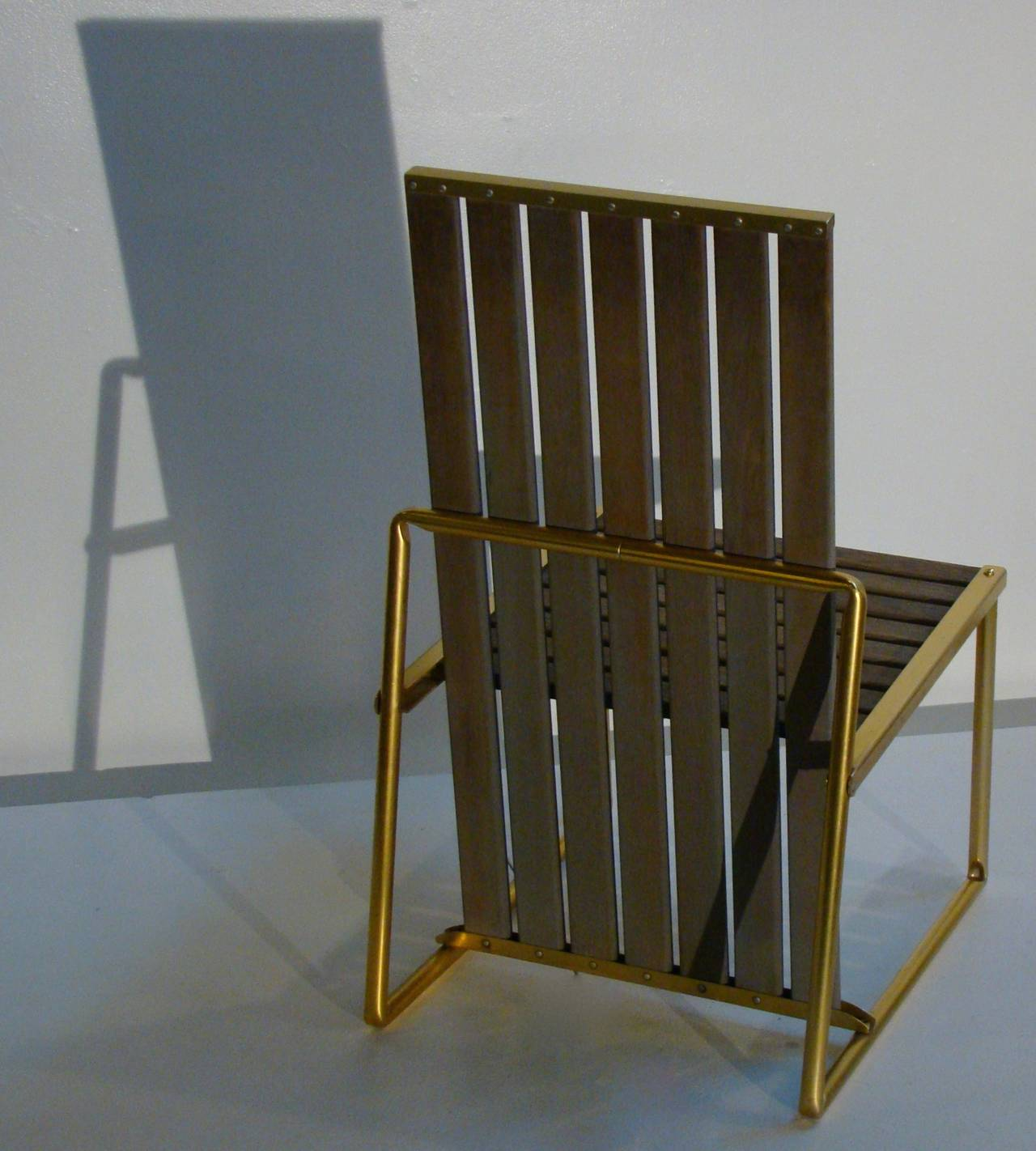 Gartenmobel Holz Rustikal Selber Bauen : Teak and Aluminum IndoorOutdoor Chairs by Troy Sunshade SATURDAY