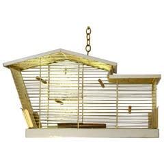 Midcentury Architectural Bird Cage