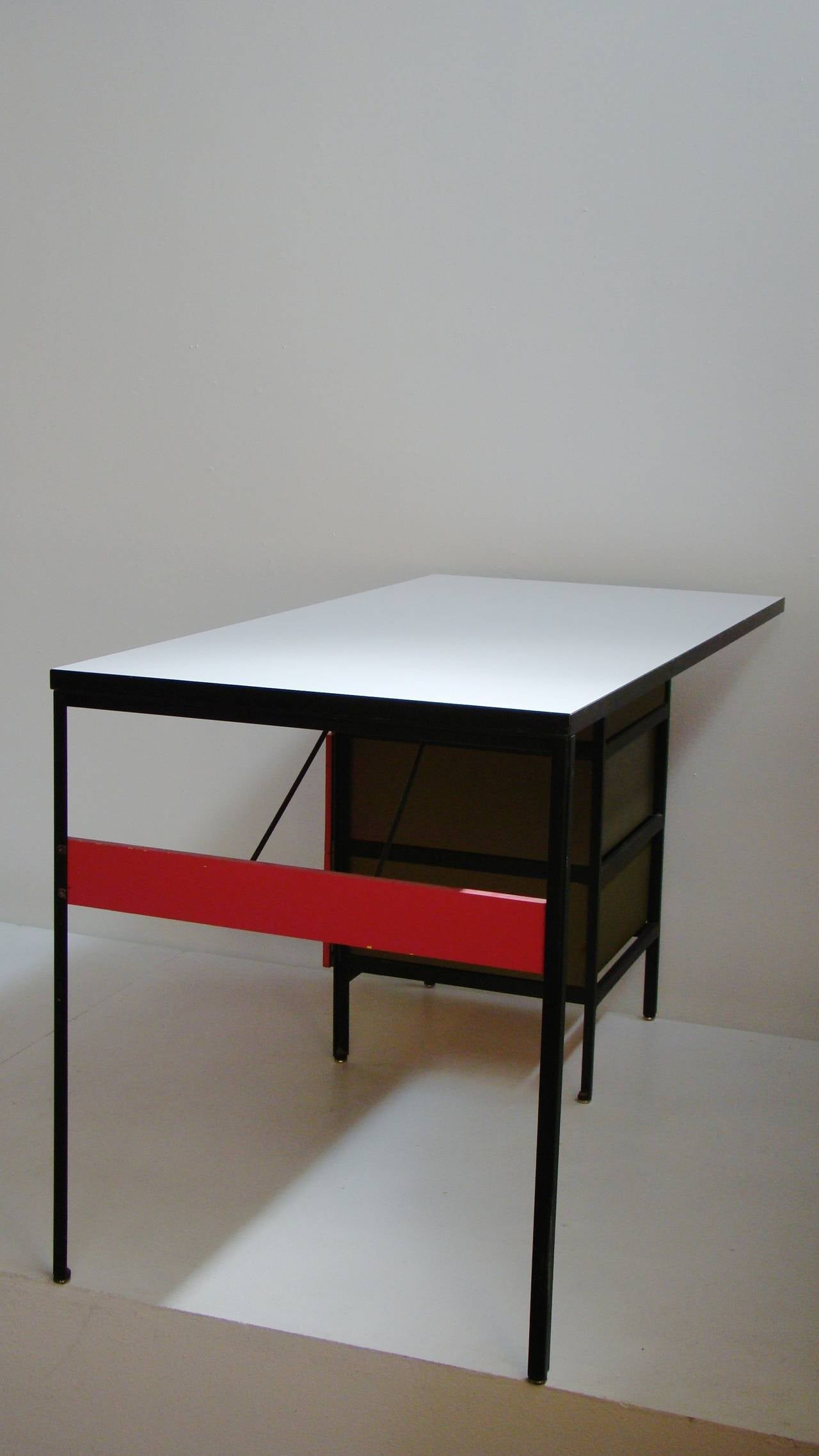 George Nelson Steel Frame Series Desk for Herman Miller USA at