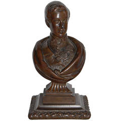 Bronze Bust of the Prince Regent, 19th Century