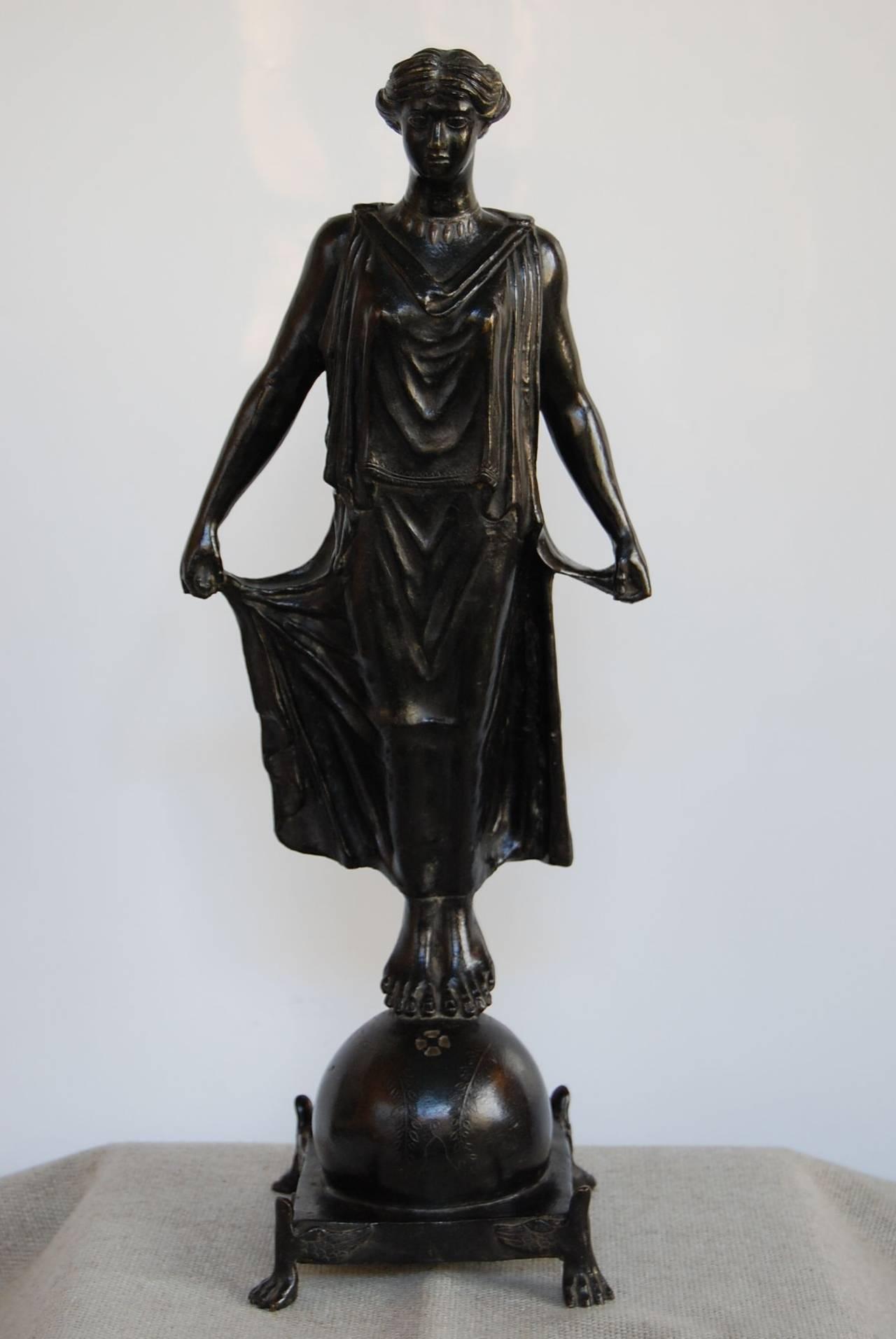 Beautiful figure standing 17