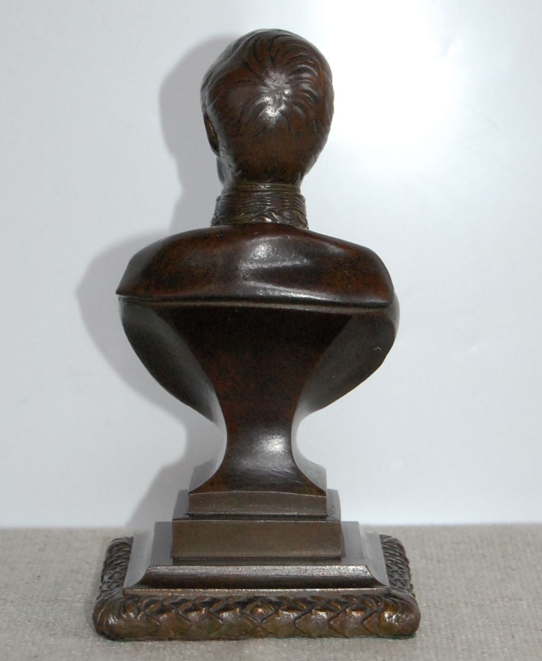 Bronze Bust of the Prince Regent, 19th Century In Excellent Condition For Sale In Pittsburgh, PA
