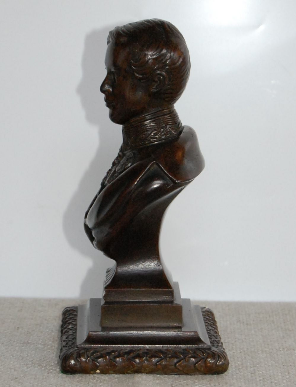 Bronze Bust of the Prince Regent, 19th Century For Sale 1