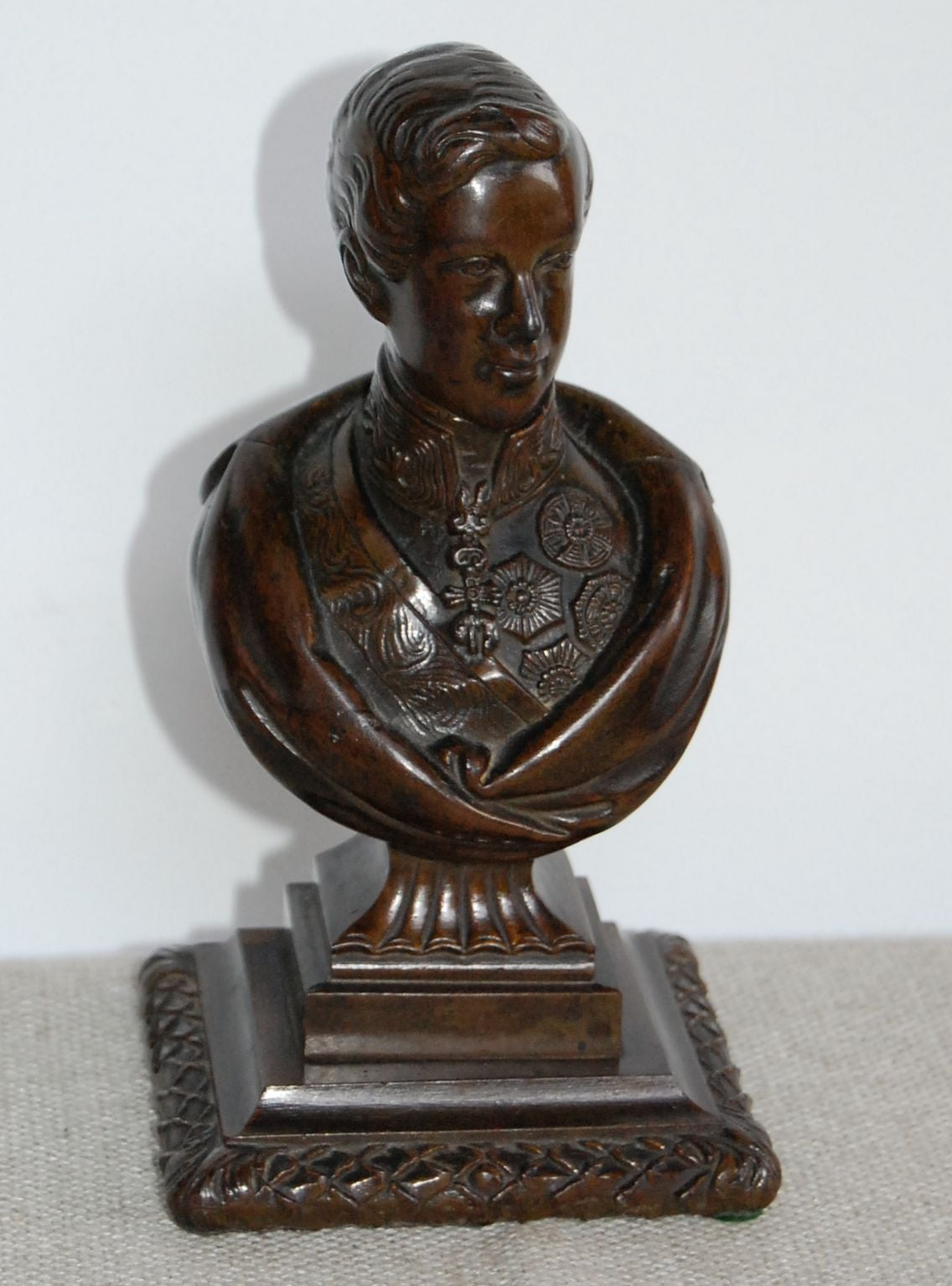 George IV Bronze Bust of the Prince Regent, 19th Century For Sale