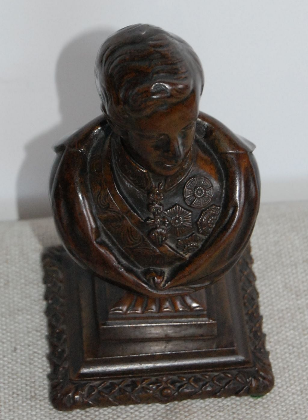 Bronze Bust of the Prince Regent, 19th Century For Sale 2