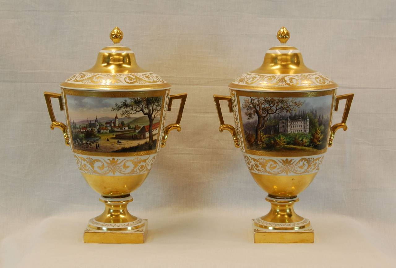 Eisenberger China factory, this mark was used between 1850 and 1865, excellent condition.