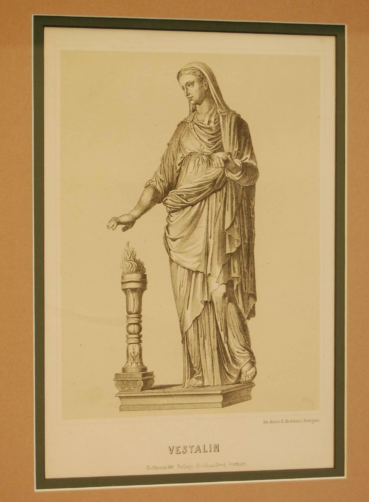 19th Century German Print