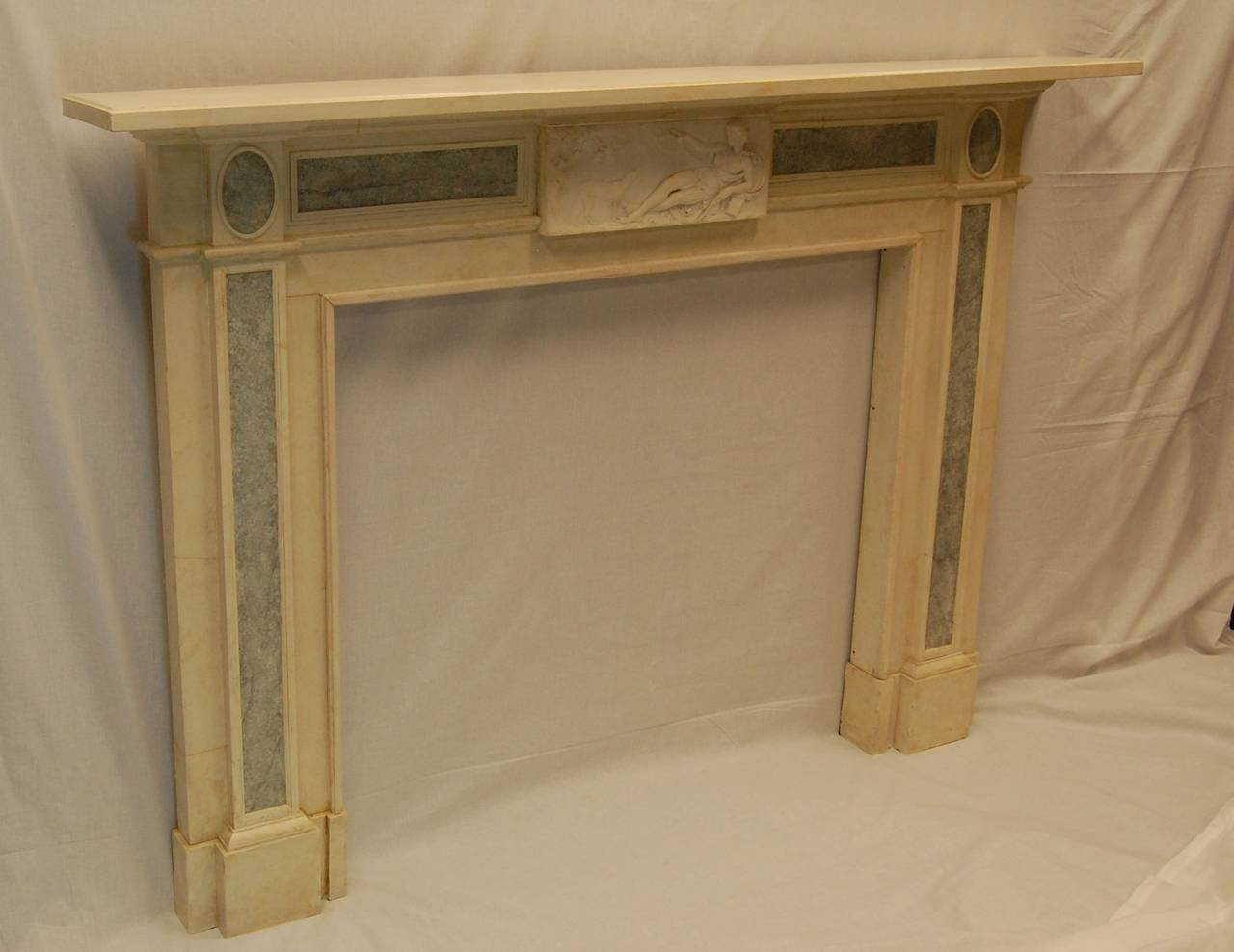 Faux marble fireplace mantels faux marble fireplace mantel for Faux marble fireplace mantels