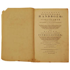 "Antique Book, ""General Artists Handbook of Treasury"""