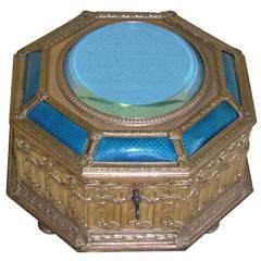 19th Century Gilt Metal French Box
