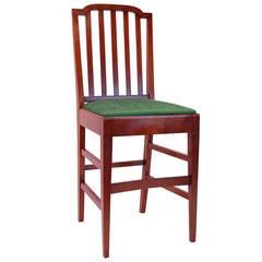 Mahogany Bar Chair