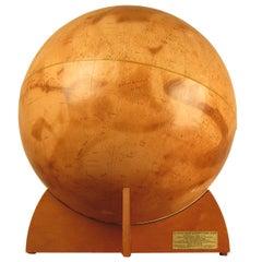 Rare First Edition Mariner 9 Mars Globe Denoyer-Geppert, 1973