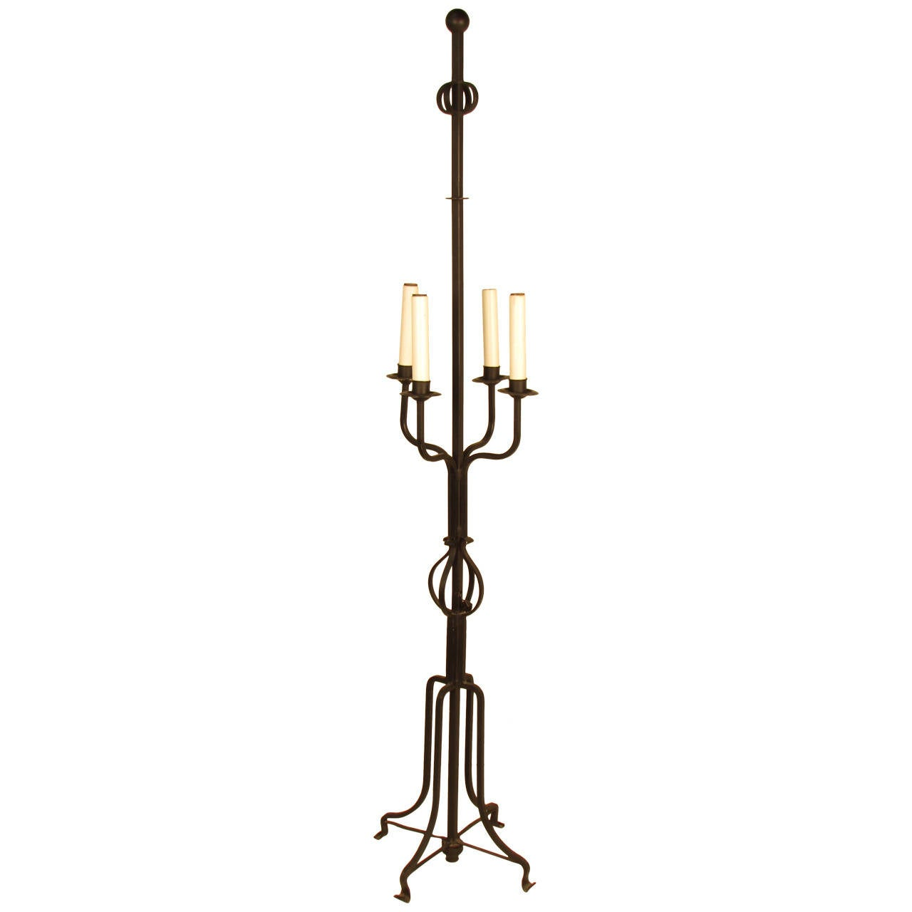 parzinger wrought iron candelabra floor lamp is no longer available. Black Bedroom Furniture Sets. Home Design Ideas