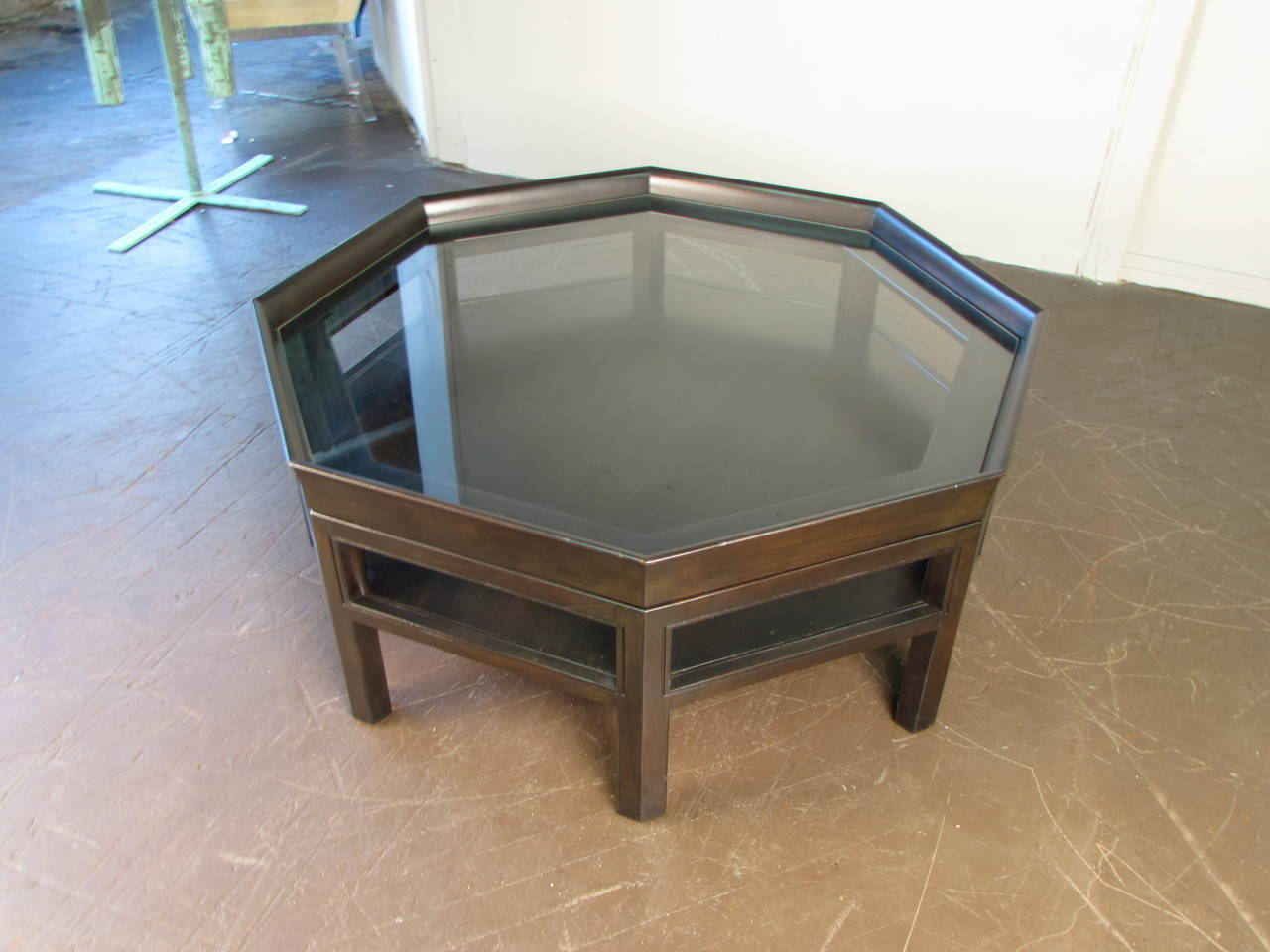 this octagonal coffee table by baker furniture is no longer available