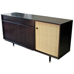 Early Ebonized Buffet by Milo Baughman for Glenn of California, 1950s