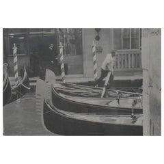Vintage Original Photograph, Hotel Bauer Venice