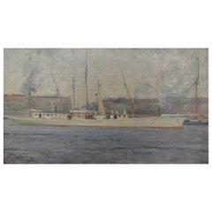 """Mikhail Tkatchenko Painting """"Marseille"""""""