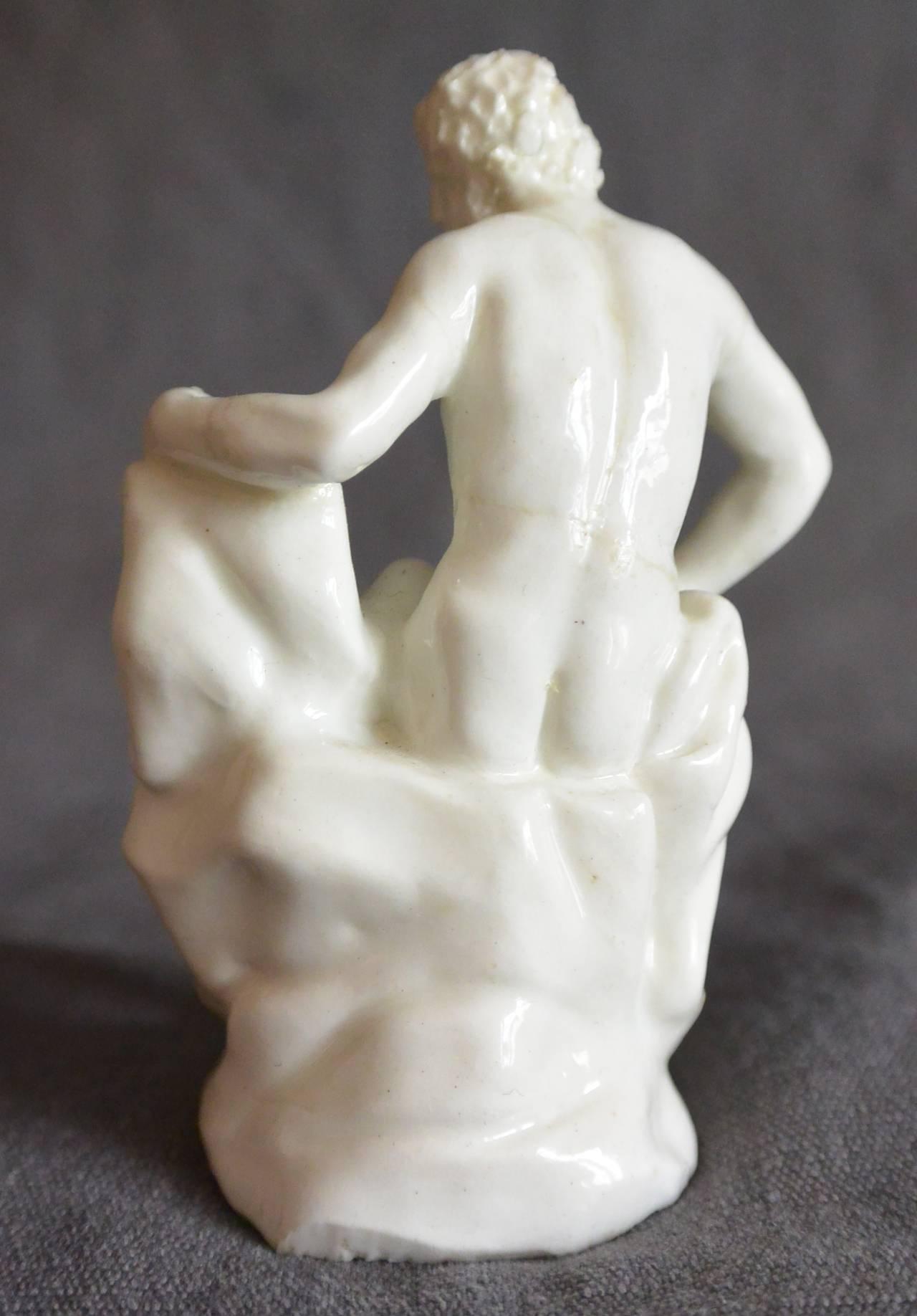 Baroque Real Fabbrica Porcelain Sculpture of a River God