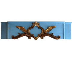 Italian Painted and Giltwood Cornice