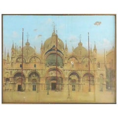 Aquatint of St. Mark's in Venice