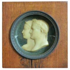Napoleonic Wax Medallion