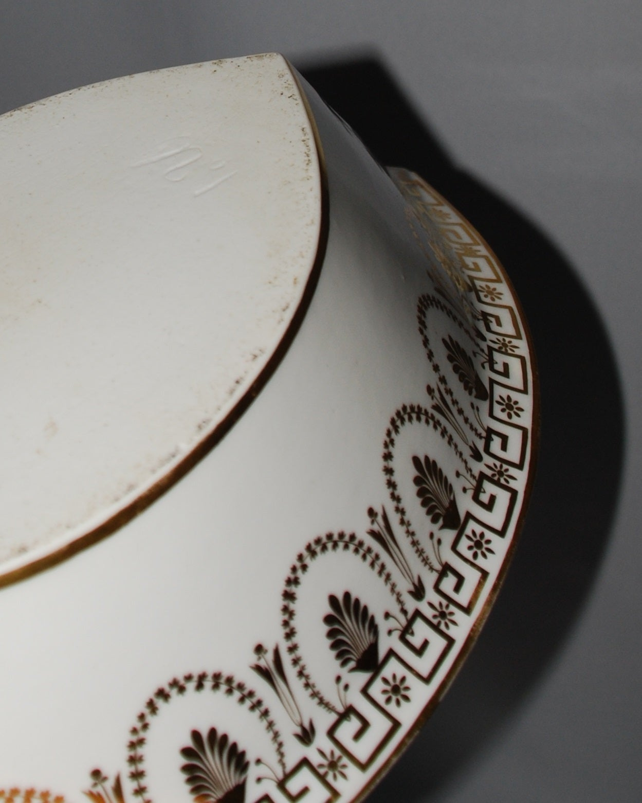 French Porcelain Water Pitcher And Basin At 1stdibs