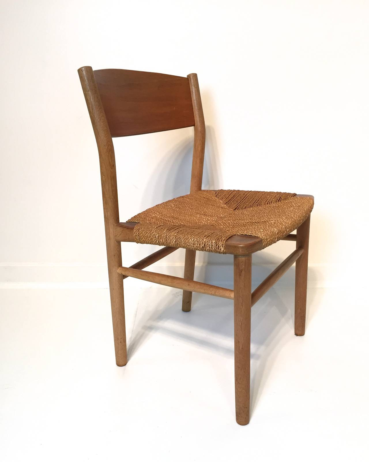 borge mogensen seagrass dining chair at 1stdibs hospitality rattan 406 3373 nat s sea breeze indoor