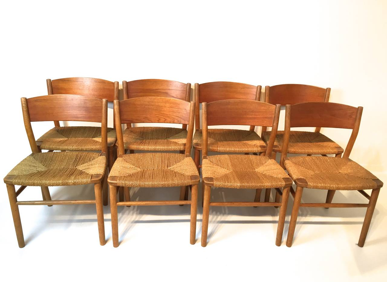 borge mogensen seagrass dining chair 3