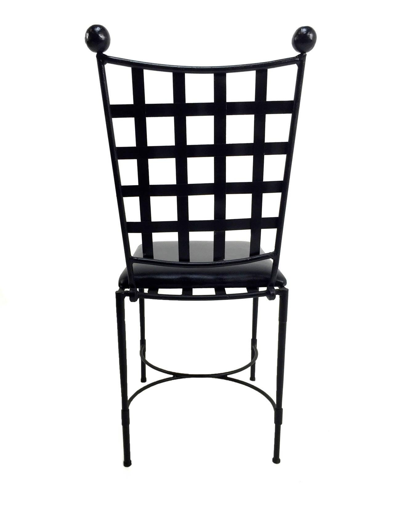 Mario Papperzini for Salterini Patio Chair Set at 1stdibs