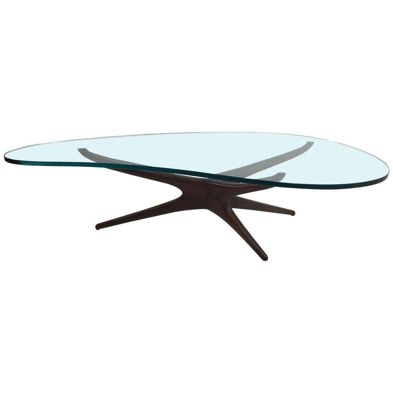 Vladimir Kagan Tri Symmetric Sculptured Coffee Table At 1stdibs