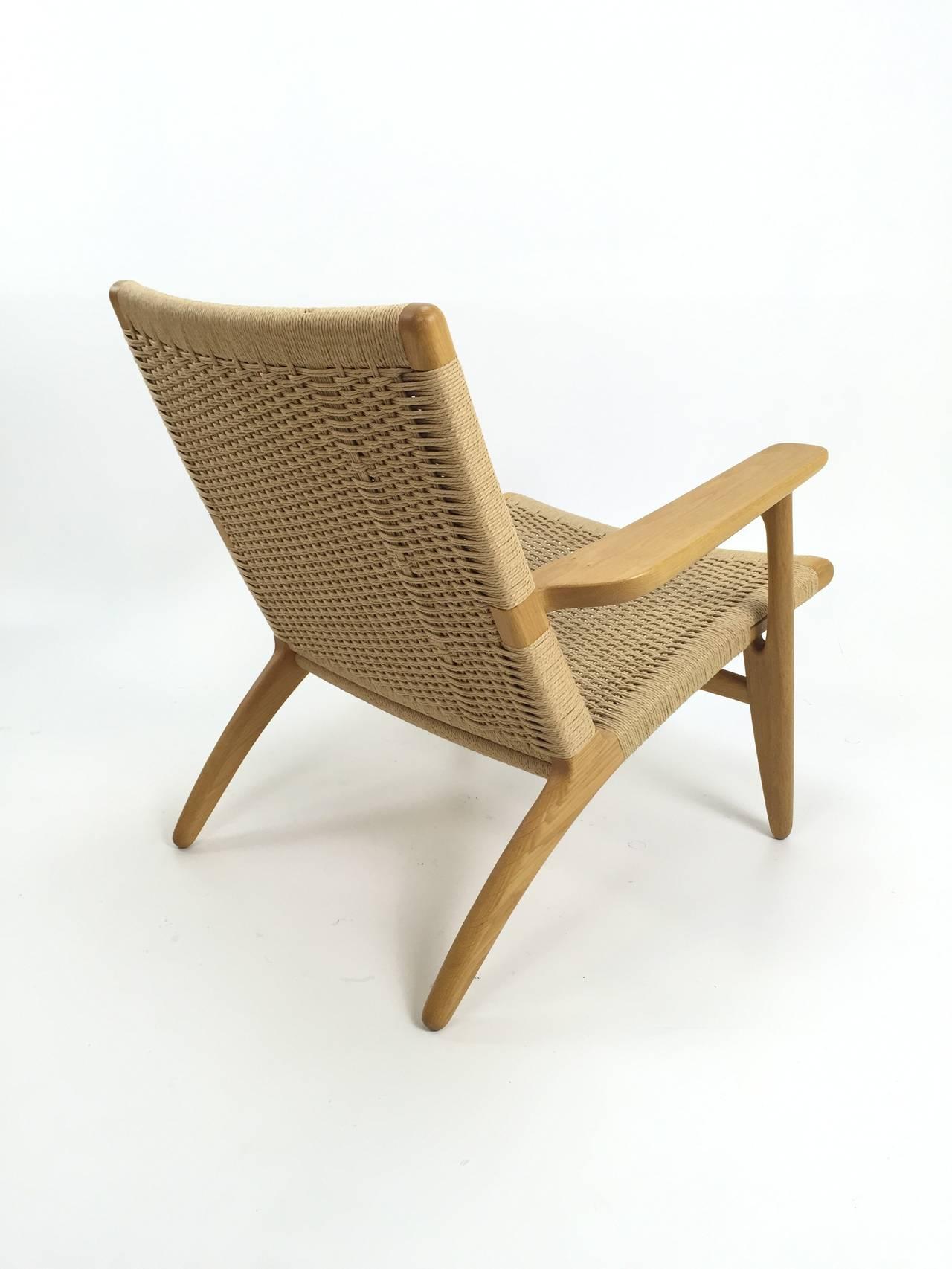 pair of hans wegner ch25 chairs for carl hansen at 1stdibs. Black Bedroom Furniture Sets. Home Design Ideas