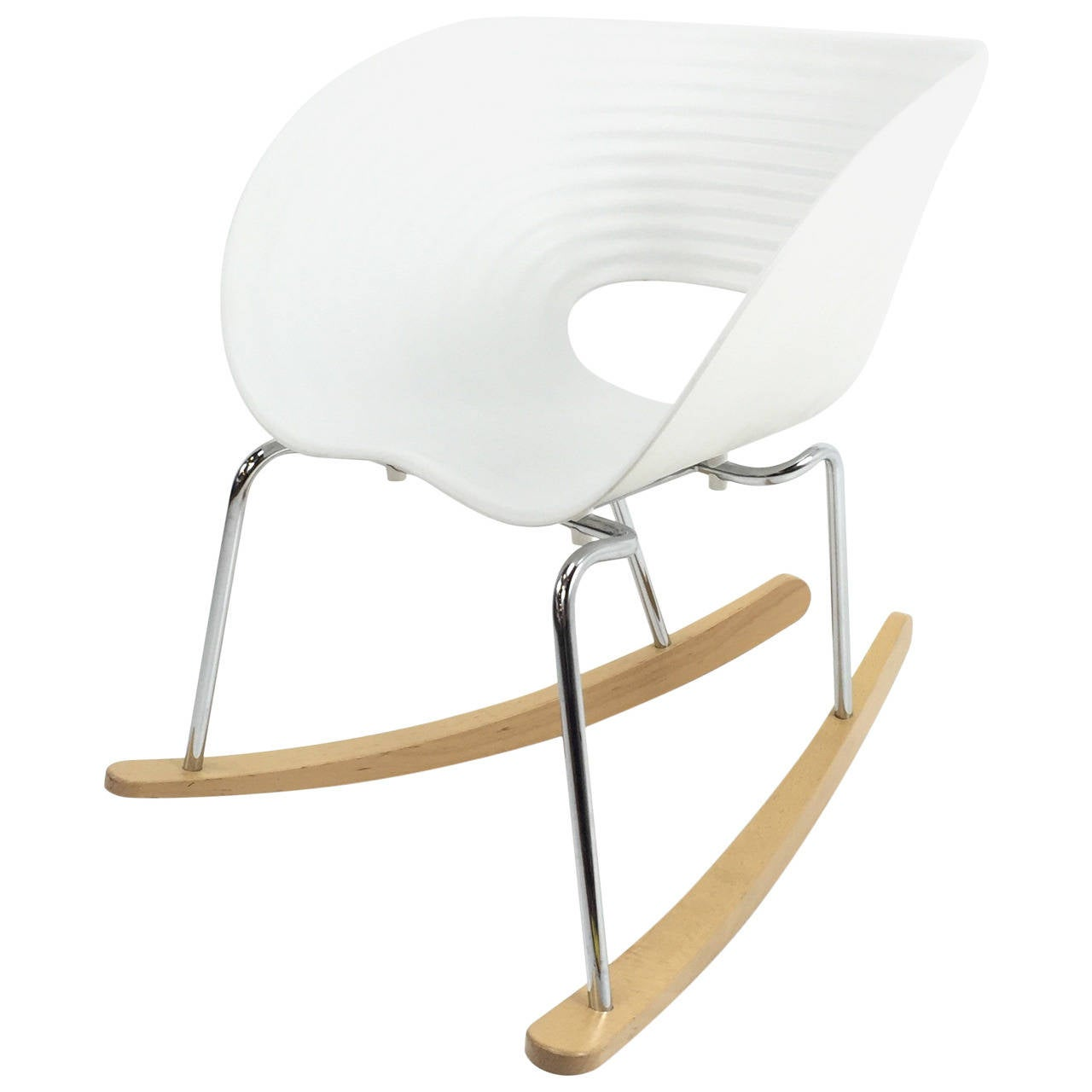 Out of production ron arad tom rock rocker for vitra at - Rocking chair vitra ...