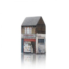 Tower of Babel: Sculpture No. 2382, 720Lea Bridge Rd E10 6AW by Barnaby Barford