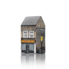Tower of Babel: Sculpture No. 2322, 367 Roman Road E3 5QR by Barnaby Barford