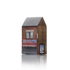 Tower of Babel: Sculpture No. 2422, 252 Fore Street N18 2QD by Barnaby Barford