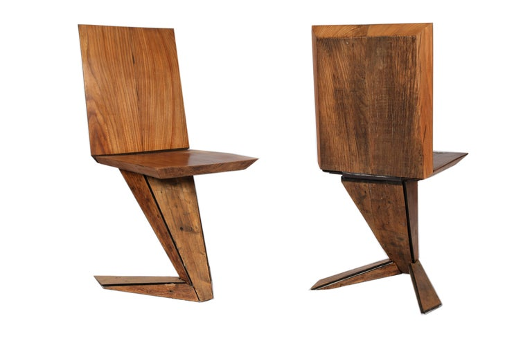 This chair is structured in locally sourced Italian steel then covered in recycled, 18th century Italian pinus cembra and treated with linseed oil.   CIRMOLO, ANCIENT PINUS CEMBRA: - WOOD ORIGINALLY HARVESTED FROM THE VARAITA VALLEY, PIEDMONT,