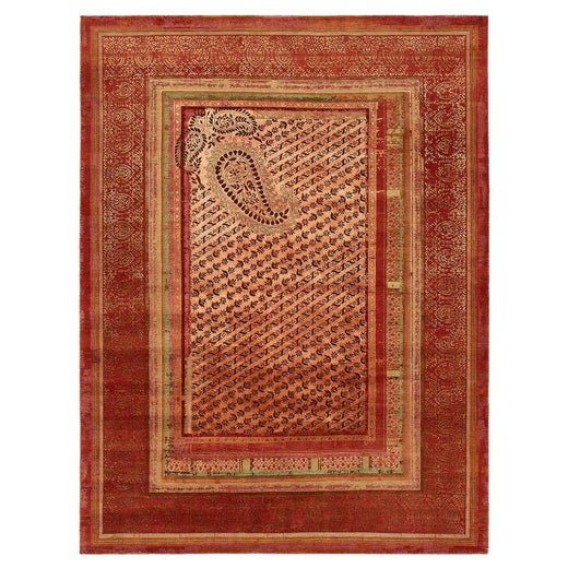 Antique And Modern Indian Rugs Carpets 3 861 For