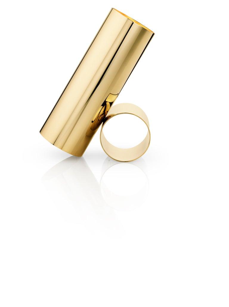For Sale: Gold Flos Sawaru Floor Lamp by Nendo 2