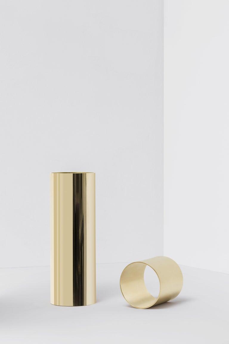 For Sale: Gold Flos Sawaru Floor Lamp by Nendo 4