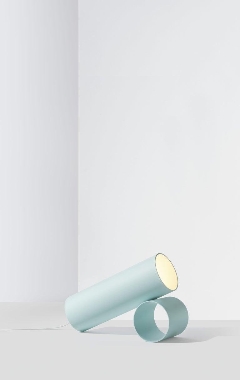 For Sale: Blue (Light Blue) Flos Sawaru Floor Lamp by Nendo 4