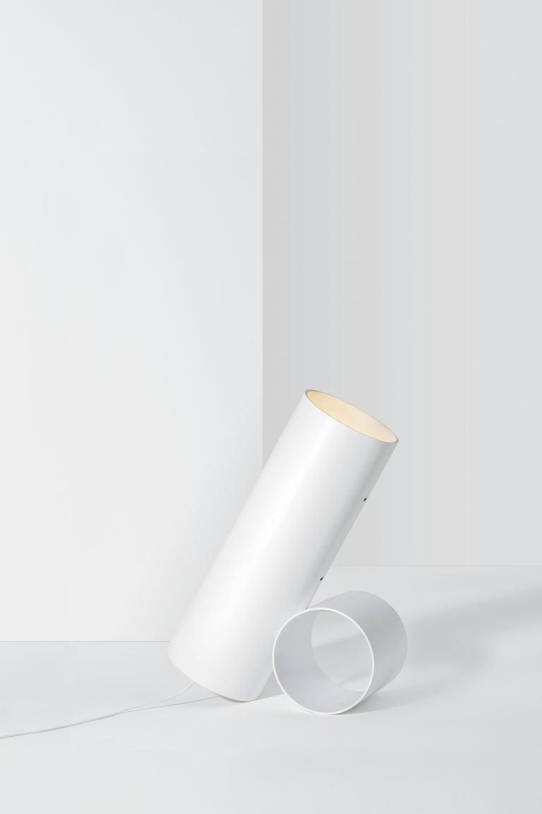 For Sale: White Flos Sawaru Floor Lamp by Nendo 4