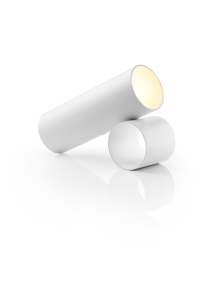 For Sale: White Flos Sawaru Floor Lamp by Nendo 3