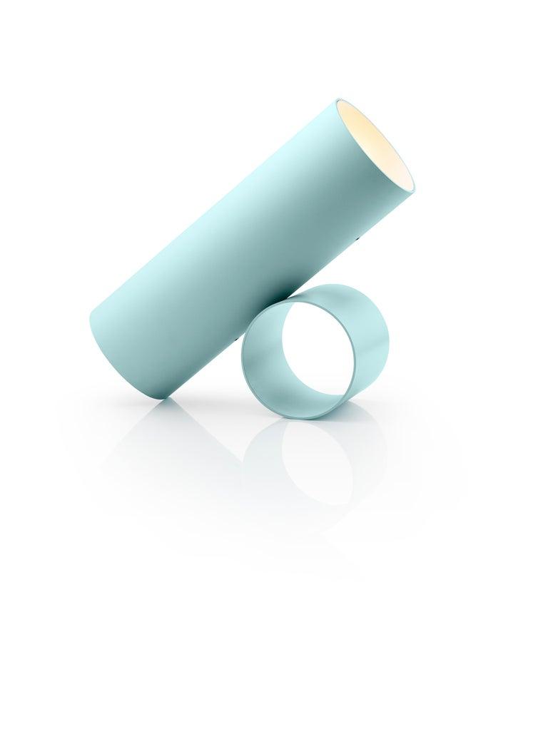 For Sale: Blue (Light Blue) Flos Sawaru Floor Lamp by Nendo 3