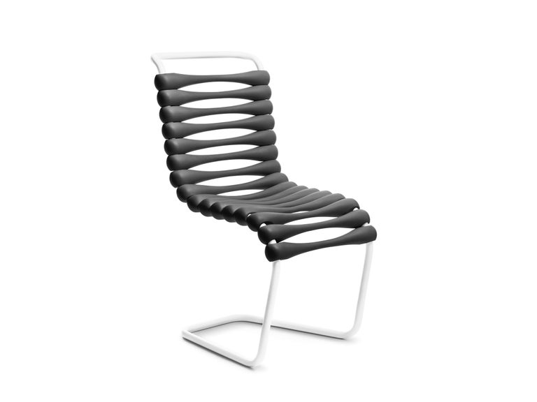 For Sale: Black Gufram Bounce Chair by Karim Rashid