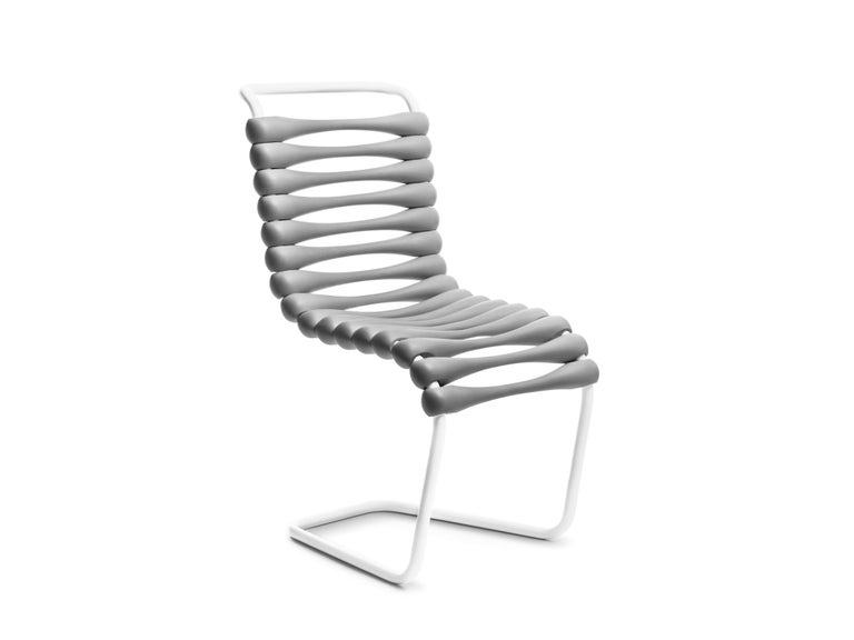 For Sale: Gray (Grey) Gufram Bounce Chair by Karim Rashid