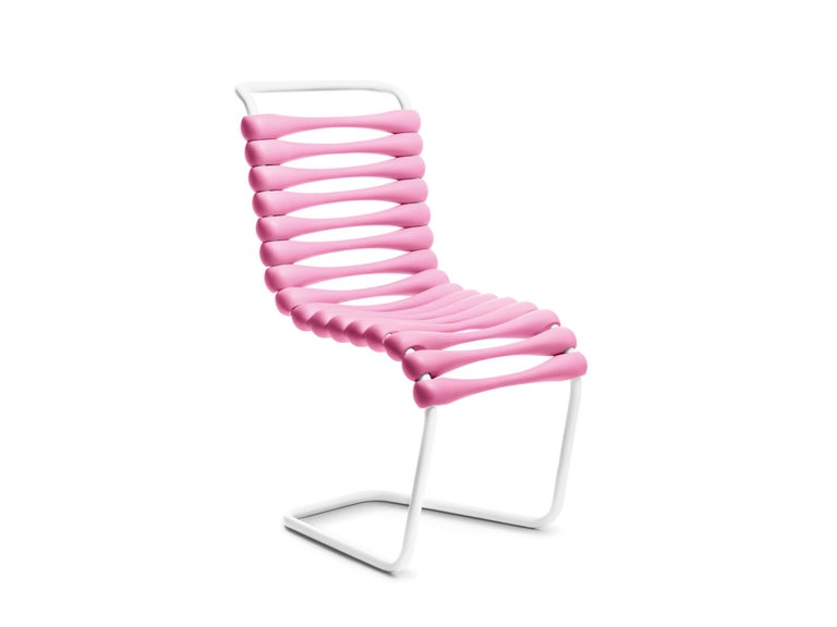 For Sale: Pink Gufram Bounce Chair by Karim Rashid