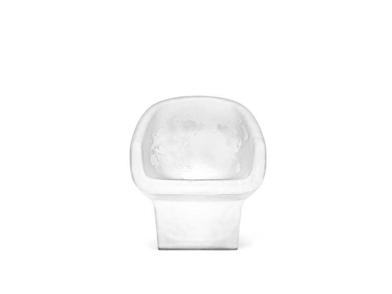 For Sale: White (Opal White) Gufram Jolly Roger Chair by Fabio Novembre 2