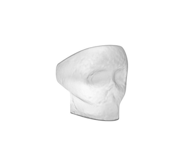 For Sale: White (Opal White) Gufram Jolly Roger Chair by Fabio Novembre