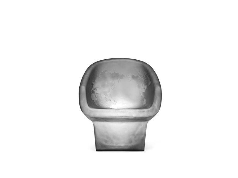 For Sale: Gray (Opal Black) Gufram Jolly Roger Chair by Fabio Novembre 2