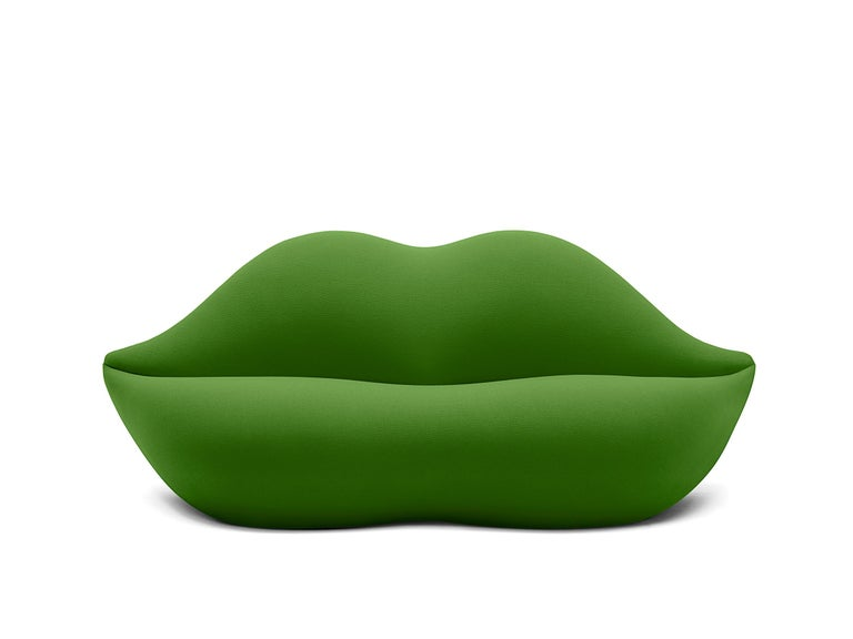 For Sale: Green (602) Gufram Special Colors Bocca Unlimited by Studio 65